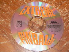 Extreme Pinball PC CD-ROM Electronic Arts Epic MegaGames 1995 game for MS-DOS