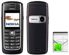 Nokia 6020 Black Unlocked Classic Camera Basic Simple Easy to Use  Mobile Phone