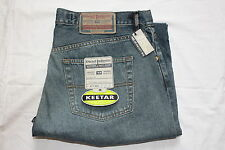 NEW Mens Diesel Industry Keetar Stonewashed Faded Jeans Button fly,Size W38 L36