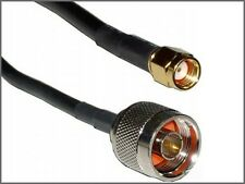 BELDEN  Rg-58 Coax  Cable  N-male To  sma Male REVERSE POLARITY  50 FT
