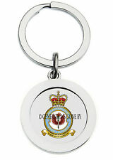 ROYAL AIR FORCE 2 FLYING TRAINING SCHOOL KEY RING (METAL)