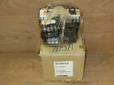 Fuji SW-0R5M/G/2E Magnetic Switch 24 VDC Coil 0.24-0.36 Amps New in Open Box CSQ