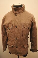 RARE BARBOUR SMU COTTON SAPPER WATERPROOF & BREATHABLE LIGHT KHAKI SMALL GA02