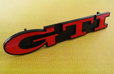 Auto car Red GTI for Golf MK3 Front Grill Grille Emblem Badge