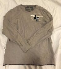 Men's American Eagle Outfitters Tee - Large - Gray - Long Sleeve - Light use