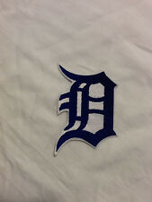 Detroit Tigers D Logo MLB Baseball Hat Shirt Embroidered Iron On Jersey Patch