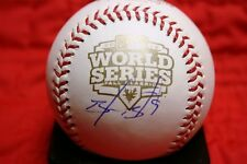 BRANDON BELT AUTOGRAPHED AUTO SIGNED 2012 WORLD SERIES BASEBALL GIANTS COA UNDER