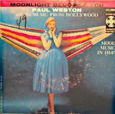 PAUL WESTON moonlight becomes you/but not for me/it never entered my mind EP VG+