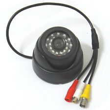 "HD 1/3"" 1000TVL Audio Security IR Color Dome CCTV Camera Mic, 3.6mm 1080p lens"