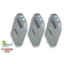 Canon PFI-707C Cyan Ink Tank 3 Pack for iPF 830 840 850 OEM NEW