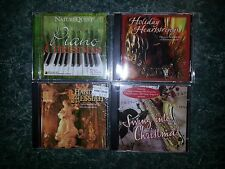 CHRISTMAS CDs; 1 LOT of 4 Different NEW Cello Wrapped  Music CDs   Lot # 2