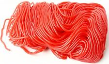 Shoestring Red Licorice Strawberry Laces 2 lbs by Gustaf