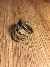 Antique Sterling Silver Fork Spoon   Ring Custom Made On Profesional Machine