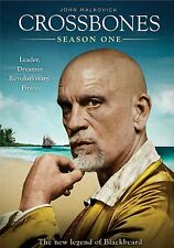 Crossbones . Season 1 . The New Legend Of Blackbeard John Malkovich . 2 DVD NEU