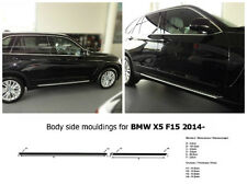 Body Side Mouldings Door Molding Protector Trim Not Painted for BMW X5 F15 2014-