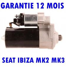 SEAT IBIZA MK2 MK3 1.9 1993 1994 1995 1996  2002 REMANUFACTURED DEMARREUR MOTEUR