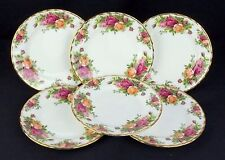 6 Royal Albert Old Country Roses 16cm Side Plates VGC