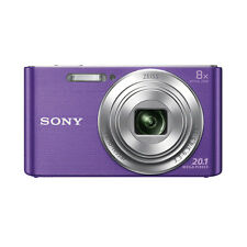 Sony Cyber-shot DSC-W830 20.1 Megapixels Digital Camera - Violet