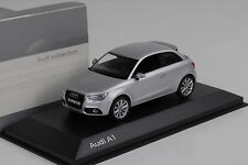 2010 Audi A1 ice silver / Eissilber Kyosho 1:43 Dealer