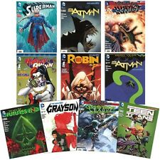 DC Comics Comic Book Variety Pack - 10 Issues of New Titles & Old Favorites