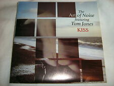 "THE ART OF NOISE/TOM JONES Kiss(Prince cover)/EFL 7""single VINYL 45 record NM/EX"