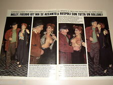 MILLY D'ABBRACCIO DADO RUSPOLI clipping articolo fotografia foto photo 1993 AS44