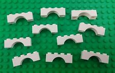 *NEW* Lego Bulk 1x4 White Arch Bricks Blocks Castles Houses Buildings 10 pieces