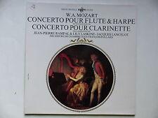 MOZART Concerto pour flute  harpe Clarinette JEAN PIERRE RAMPAL LASKINE LANCELOT
