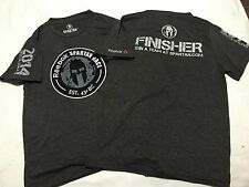 2 Small NWOT Reebok Spartan 2014 Race Finisher 60% Cotton 40% Polyester T- Shirt