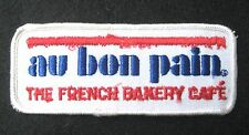 AU BON PAIN EMBROIDERED SEW OR IRON ON PATCH FRENCH BAKERY CAFE CHAIN