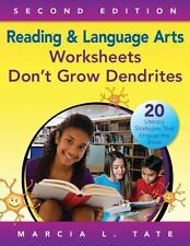Reading and Language Arts Worksheets Don't Grow Dendrites : 20 Literacy...