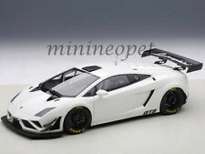 AUTOart 81358 LAMBORGHINI GALLARDO GT3 FL2 2013 1/18 DIECAST MODEL CAR WHITE