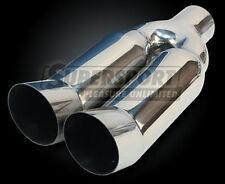 Anschweißendrohr 2x90mm DTM Absorber,33cm,TÜV-frei