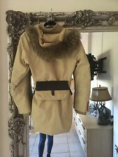 prada ski jacket size 10 gorgeous with raccon fur hood size 10