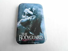 VINTAGE PROMO  PINBACK BUTTON #106-131 - BODYGUARD movie WHITNEY HOUSTON
