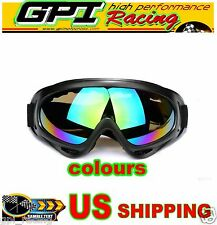 ATV Dirt Bike Motorcycle Motocross Dustproof Off Road Racing Goggles Glasses