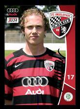 Mario Neunaber Autogrammkarte FC Ingolstadt 2007-08 Original Signiert+A 142654
