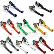 CNC Pivot Brake Clutch Levers For Honda CR80/85 CR125 CR250 CRF250 CRF450