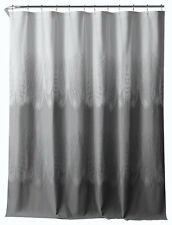 Chic Tones of Grey Decorative Fabric Shower Curtain