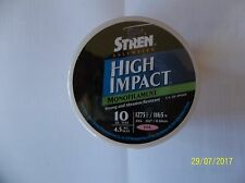 STREN HIGH IMPACT SALTWATER MONOFILAMENT LINE 10 LB 1275 YARDS PINK