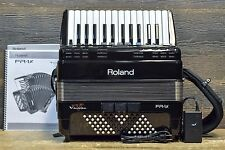 Roland V-Accordion FR-1x 26-Key Black Digital Piano Accordion w/ Bag - #Z6F0303