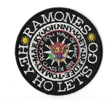 "New THE RAMONES ' Hall of Fame 2012'  3""  Inch Iron on Patch Free Shipping"