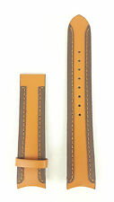 Watch Strap Breil Globe BW0059 / TW0289 Genuine Brown Orange Leather Band Tribe