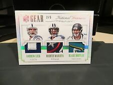 National Treasures NFL Gear Andrew Luck Marcus Mariota Blake Bortles 2/5  2015