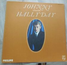 johnny chante hallyday lp mono