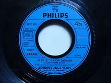 JOHNNY HALLYDAY la fille de l été / Degage 6837263 PROMO