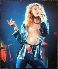 LED ZEPPELIN POSTER PAGE 1975 ROBERT PLANT MADISON SQUARE GARDEN CONCERT . P18
