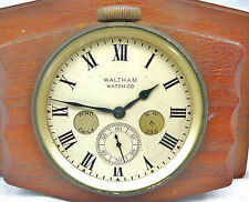 Waltham ex Military ship/yacht clock/watch Chronometer Capt G M Watts Ltd london