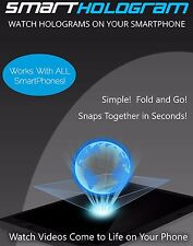 SmartHologram Universal 3d Hologram Pyramid for Android, IOS, All SmartPhones