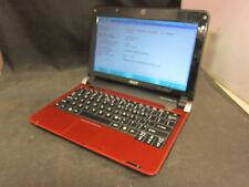 Acer Aspire One Red D150-1920 w/ Atom 270N 1.60GHz + 1GB RAM + 160GB HD